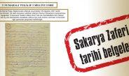 Sakarya Zaferi tarihi belgeleri